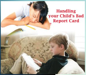 Handling your Child's Bad Report Card