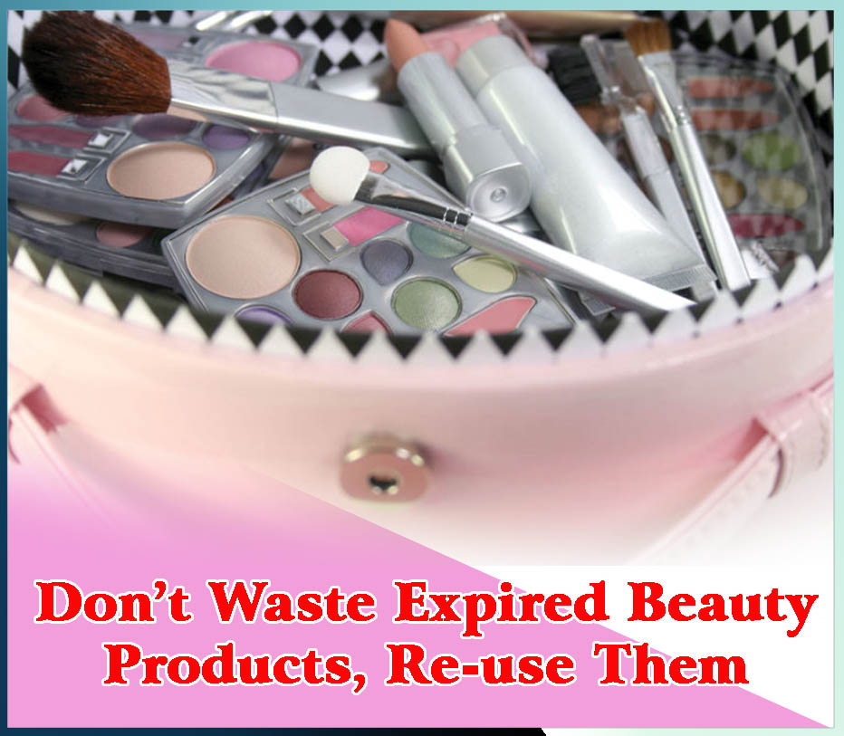 Don t waste expired beauty products re use them sachi for Products that don t exist