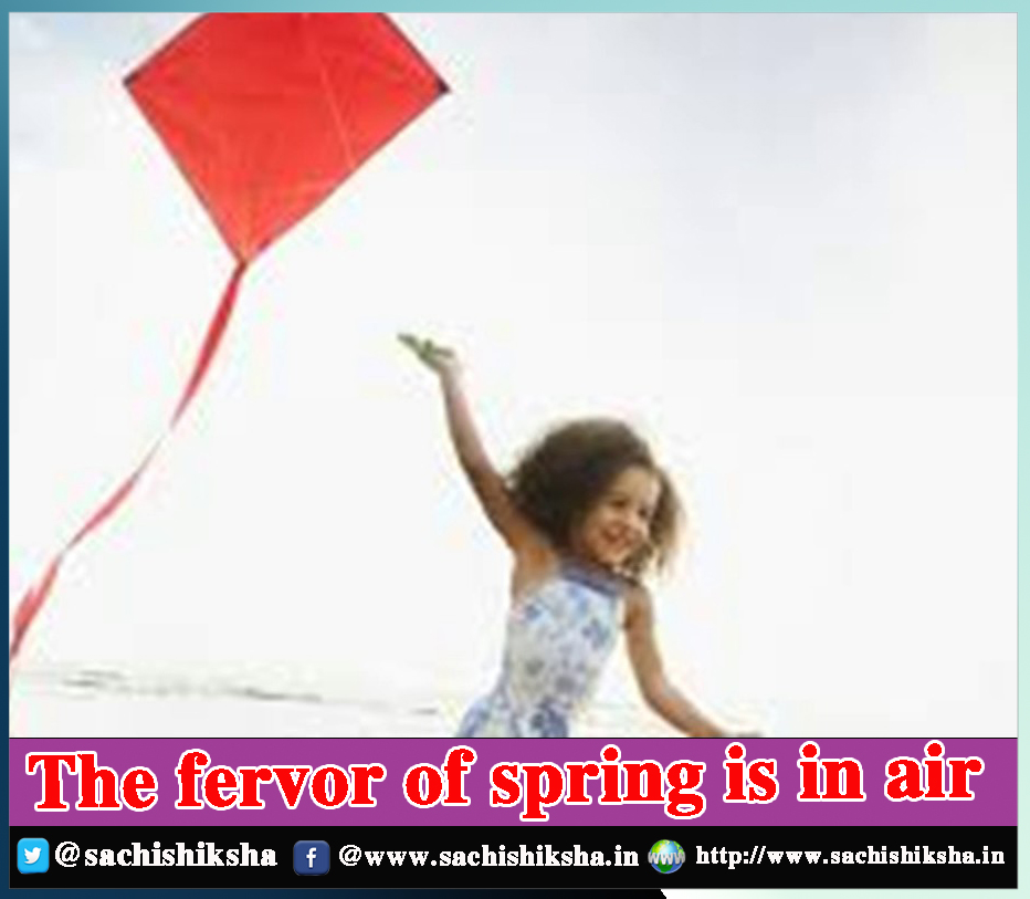 The fervor of spring is in air