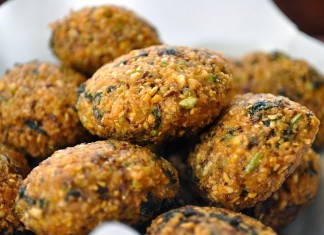 Sprouted Moong Dal Vadas