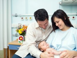 New Parents Learning the Parenting Business