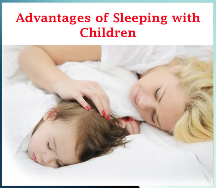 Advantages of sleeping with children