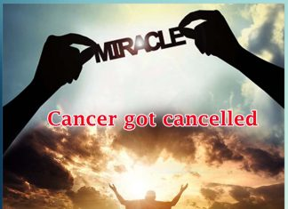 Cancer got cancelled by the Grace of Rev. Saint Dr.MSG