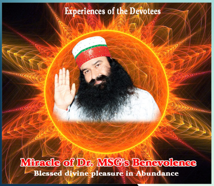 Miracle of Dr. MSG's Benevolence,Blessed divine pleasure in Abundance