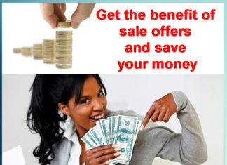 Get the benefit of sale offers and save your money