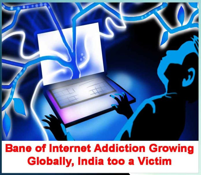 Bane of Internet Addiction Growing Globally, India too a Victim
