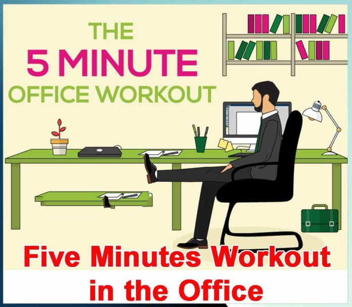 Five Minutes Workout in the Office