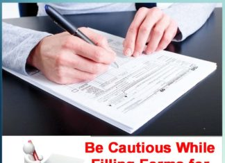 Be Cautious While Filling Forms for Various Purposes