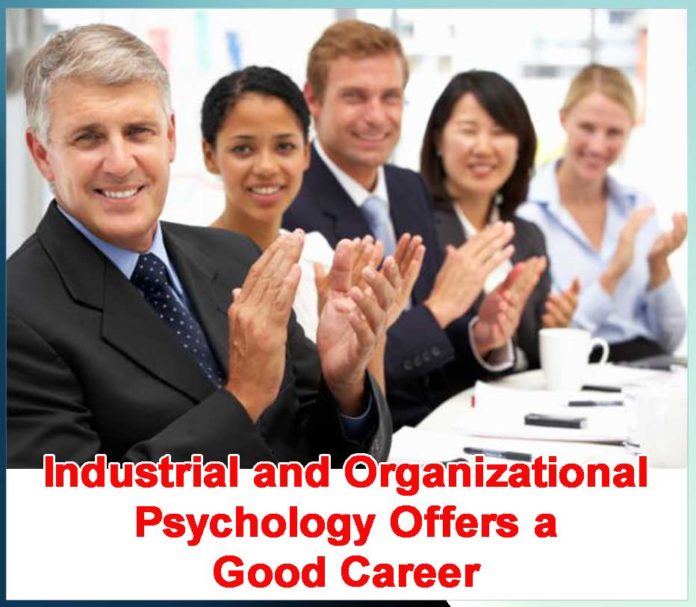 Industrial and Organizational Psychology Offers a Good Career