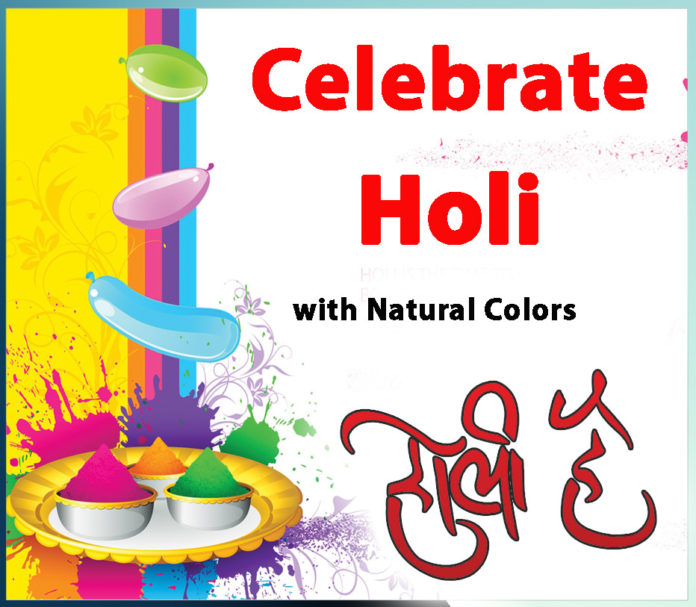 Celebrate Holi with Natural Colors
