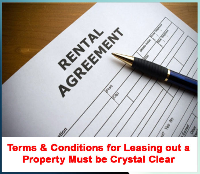 AGREEMENT WITH THE TENANT