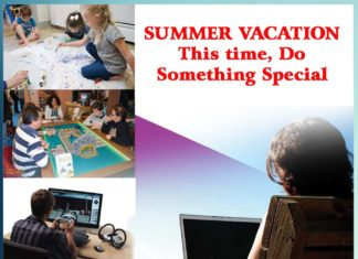SUMMER VACATION This time, Do Something Special