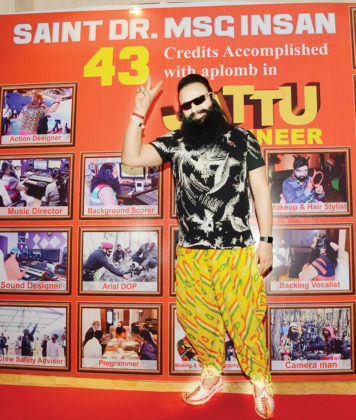 Call to 'Save Cow' at Success Party of 'Jattu Engineer'