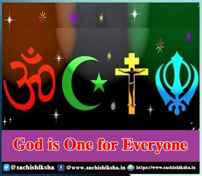 God is One for Everyone