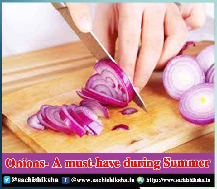 Onions- A must-have during Summer - Sachi Shiksha