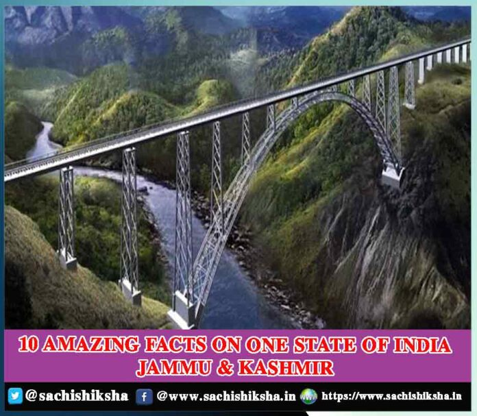 10 Amazing facts on one state of India Jammu & Kashmir
