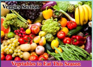 Veggies Section
