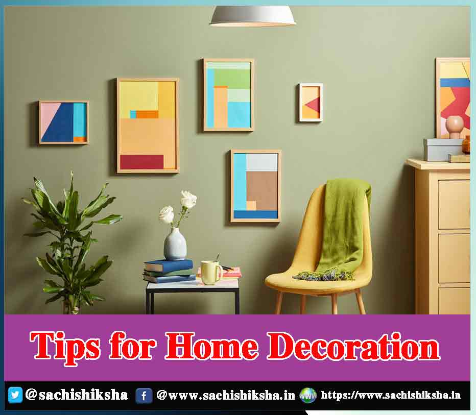 Diy Tips For Home Decor from www.sachishiksha.in