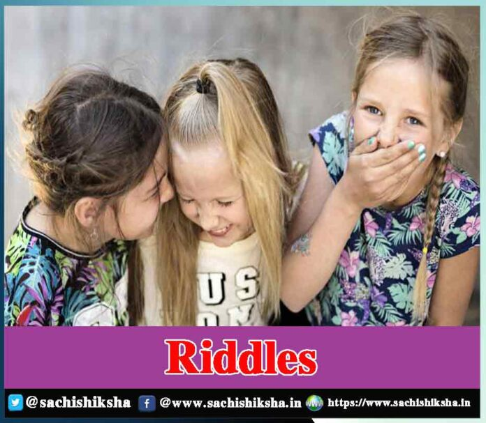 riddles with answers for kids and adults - Sachi Shiksha